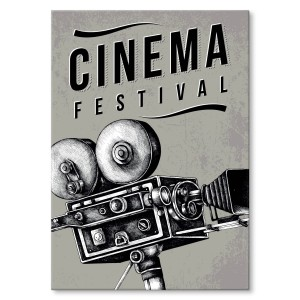 Metal poster Cinema festival