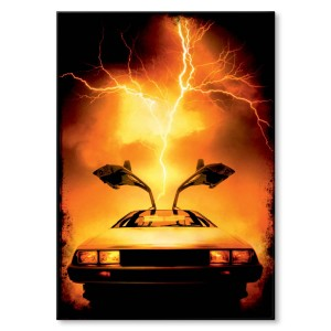 Poster metalowy Back to the future Prezent